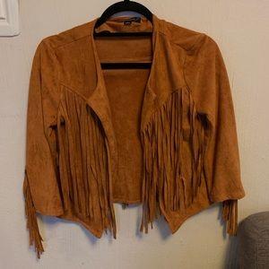 Fun fringe jacket!